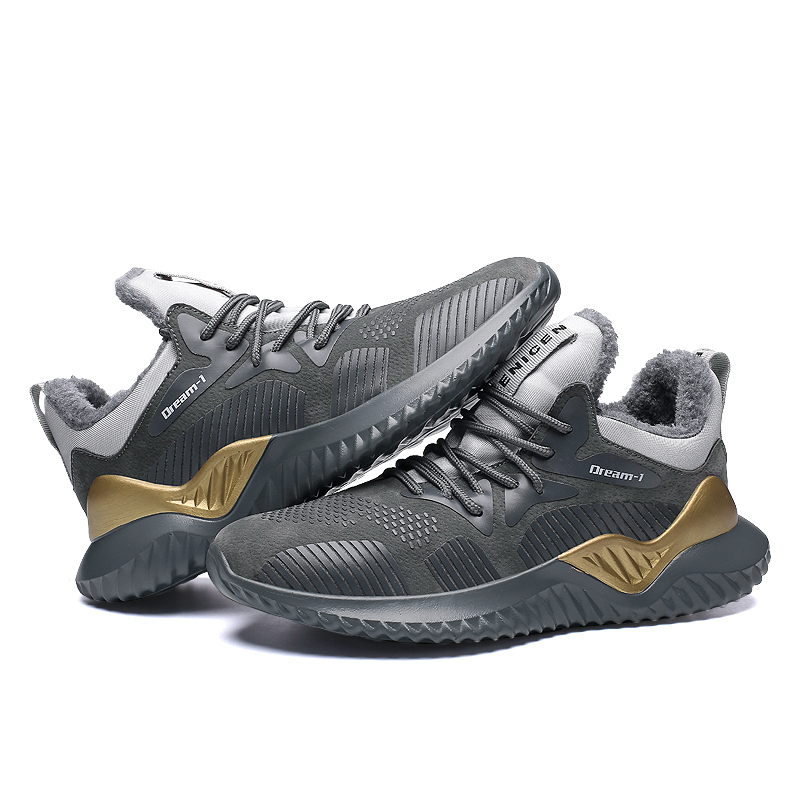 size 40 f4282 42534 Big Size 39 46 Human Race Shoes Men Plush Warm Ankle Ultra ...
