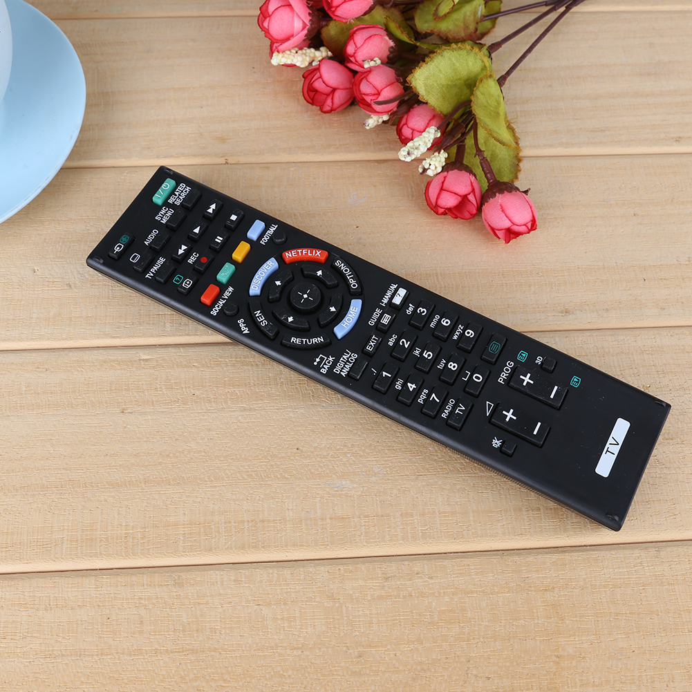 Universal TV Remote Control Replacement Television Remote Control Unit Black for SONY RM-ED058 RMED058 TV