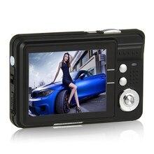 camera digital HD K09  2.7 inch TFT LCD Digital Camera Camcorder CMOS Senor 8x Digital Zoom Anti-shake Anti-red eye Camera