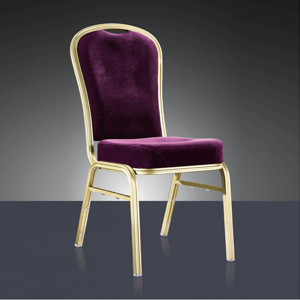 wholesale quality strong stackable aluminum dining chair LQ-L1039