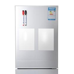 2 pçs/lote quadro magnético, quadro branco macio como imã de geladeira/escritório marcador negro/etiqueta Com o dom gratuito