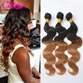 1b/27 Ombre Brazilian Hair Body Wave Cheap Hair Bundles 3 Pc Lot Good quality Ombre Human Hair Weave Aliexpress Brazilian Hair