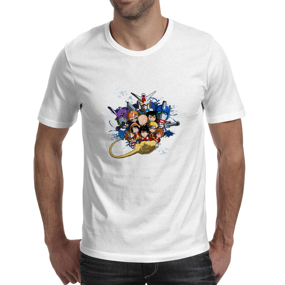 My Childhood T shirt Anime Cartoon Retro Manga Comic Movie Brand Novelty Hip Hop T Shirt Funny Creative Fashion Women Men Top in T Shirts from Men 39 s Clothing