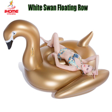 Inflatable Giant Float Rainbow Unicorn inflatable Pegasus flamingo float Black Swan Golden Swan Float Air Mattress