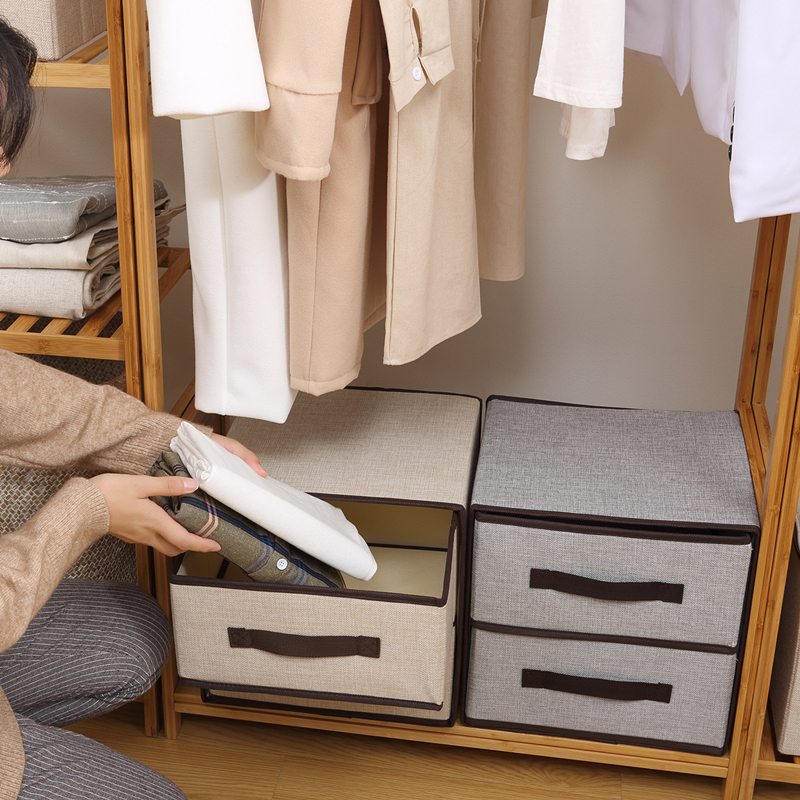 Drawer Style Storage Box Underwear Drawer Organizer Large-capacity Closet Organizer Foldable Home Storage Socks Bra Case