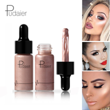 12 Color Pudaier Liquid Highlighter makeup shimmer face body highlighter palette Concealer iluminador maquillaje bronzer