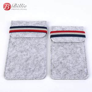 """Image 5 - For Apple iphone 6 6s 7 8 4.7""""Ultra thin Handmade Wool Felt phone Sleeve Cover For iphone 6 6s 7 8 plus 5.5"""" Bumper Phone Bag"""