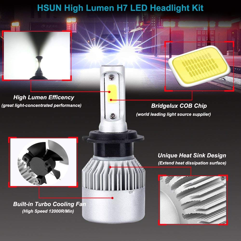 Beautiful Auto Bulbs Led H7 H4 H11 H1 H3 H13 880 9004 9005 9006 9007 9003 Hb1 Hb2 Hb3 Hb4 H27 Cae Led Headlight Bulb Kit Fog Light 6500k Light Bulbs Led Bulbs & Tubes