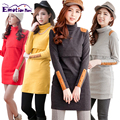 Emotion Moms Turtleneck Thermal Maternity clothes Breastfeeding maternity dresses for Pregnant Women Tops nursing pregnant dress