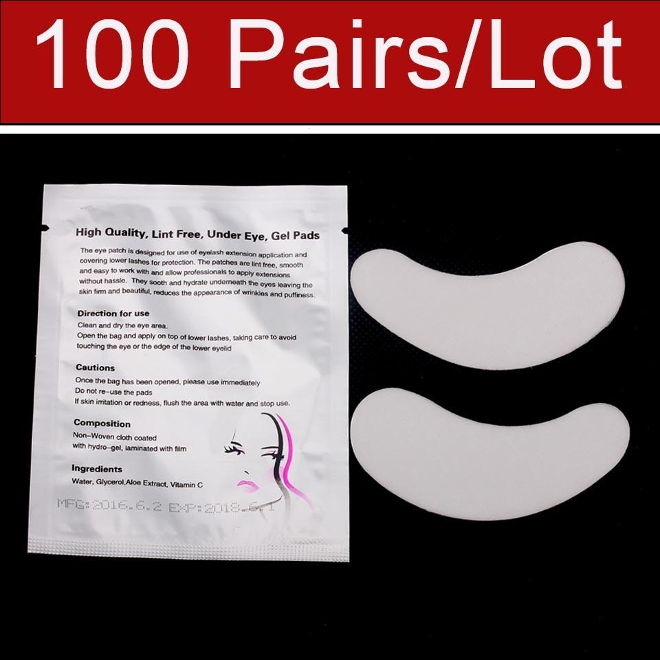 Super Levné 100 párů / taška Luxusní oční podložka pro - Makeup