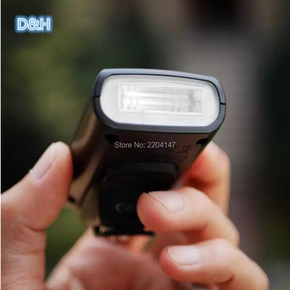 Speedlite 90EX top lampe flash pour Canon EOS M M2 600D 650D 700D 60D 5D Mark III REFLEX et G16 G15 G12 G11 G10 G9 G1X G7X Caméra