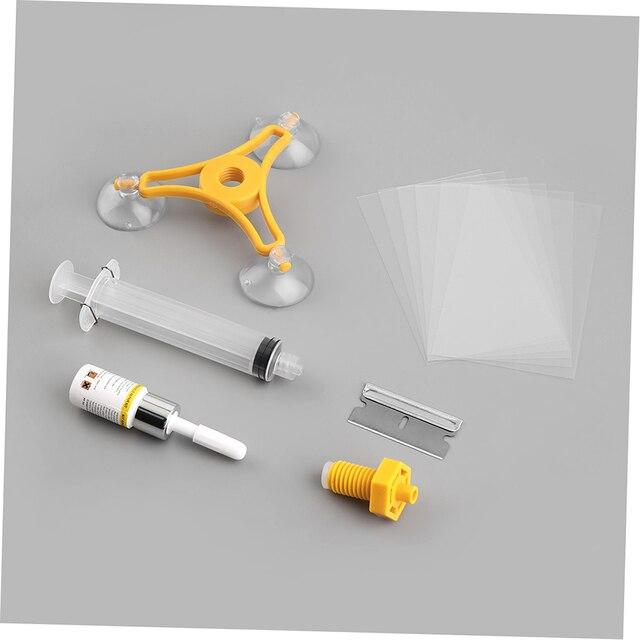 Windshield Crack Repair Kit >> Uninersal Windscreen Windshield Repair Tool Glass Crack Repair Kit