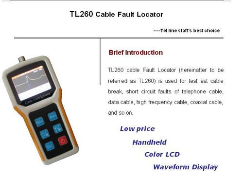 Cable Fault Locator On Line : Compare prices on cable fault locator tdr online shopping