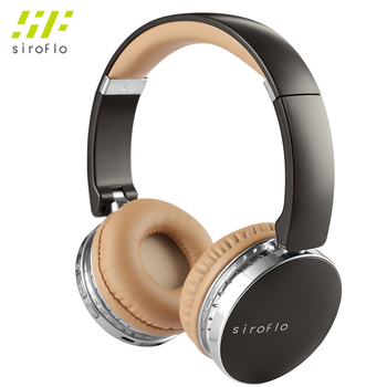 siroflo V4 Wireless and Wired Bluetooth Headphones Retractable Noise Cancelling 3.5mm Music Headphone