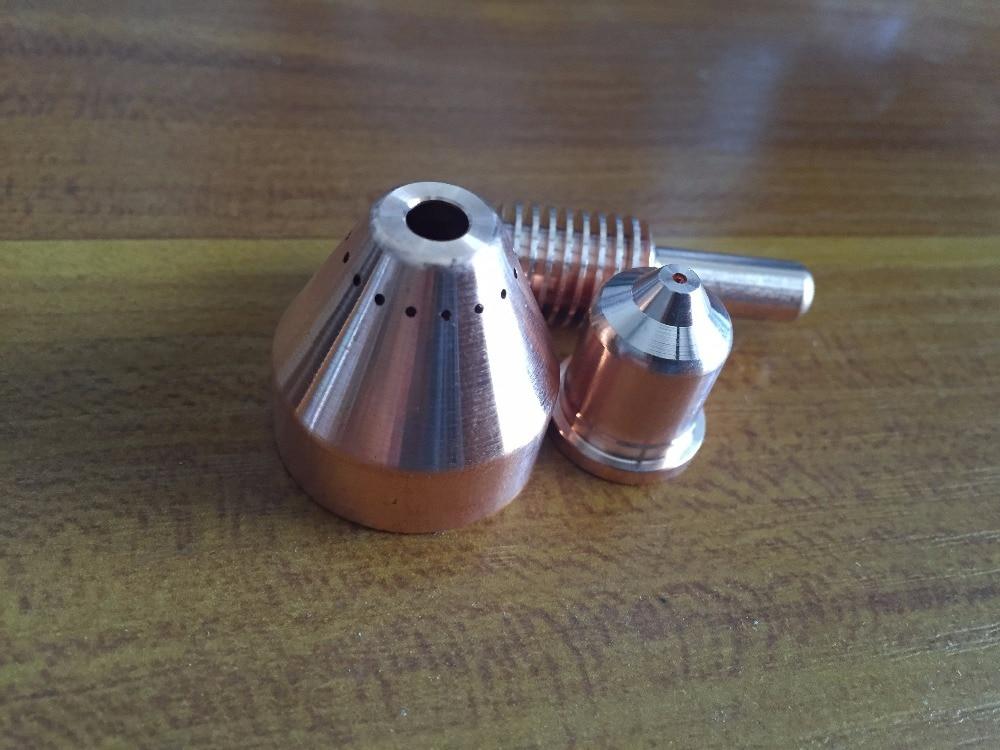 220842 Electrode 25pcs+220930 Nozzle 25pcs , 50pcs per lot Plasma Consumables