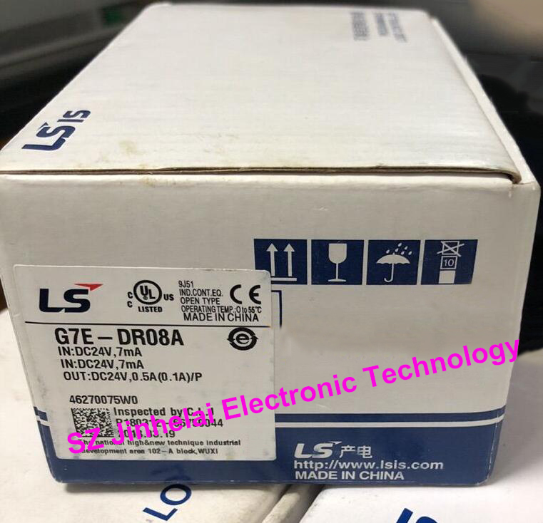 100% New and original G7E-DR08A LS(LG) PLC 100% new and original g6i d22a ls lg plc input module