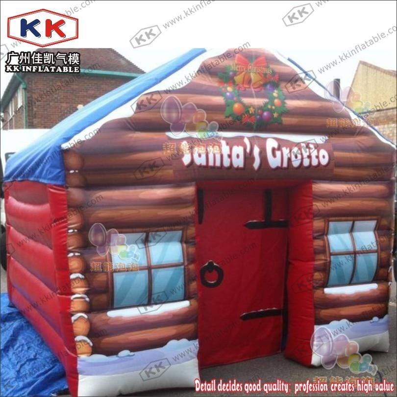 Fabricant gonflable de grotte de Santas