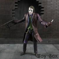NECA DC Classic TV Series 1966 The Dark Knight Rises Suicide Squad The Joker Heath Ledger