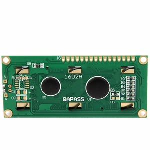 Image 4 - LCD1602 1602 module 5V lcd 1602 blue screen Character LCD Display Module Blue Blacklight New white code