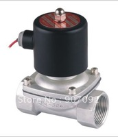 1 1/4'' Ports Stainless Stell Valves Model 2S350 35 Model 2/2 Way Gas Solenoid Valve SS Body