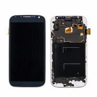 1PCS LCD Display Touch Replacement Screen For Samsung S4 I9500 I9505 With Digitizer Frame Assembly White