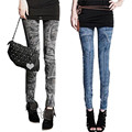 NEW Sexy Women Jean Skinny Jeggings Stretchy Slim Leggings Fashion Skinny Pants Push Up Jeans Leginsy Damskie #OR