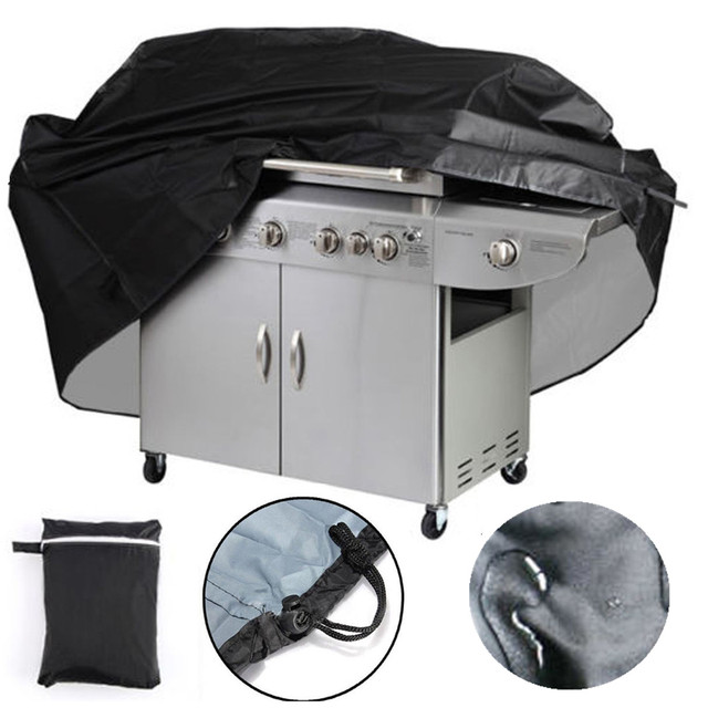 Bbq Grill Cover Outdoor Rain Uv Proof Canopy Dust Protector For Gas Charcoal Electric Barbecue
