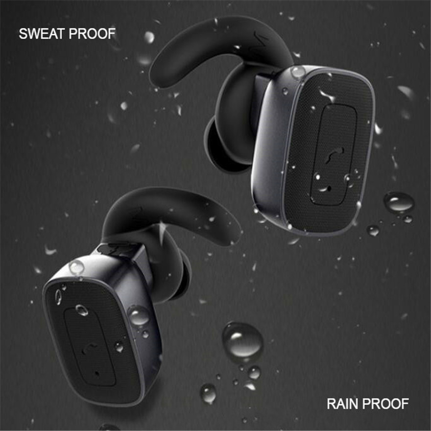Extra Bass Earphones Sport Bluetooth 4.1 Headset Stereo True Wireless Earbuds Waterproof with Mic for Iphone Xiaomi Samsung HTC picun wireless headphones bluetooth earphones stereo headset sport earphone bass earbuds with mic for iphone xiaomi mp3 music