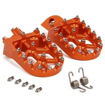 รถจักรยานยนต์ Cnc เท้าเหยียบเท้าเหยียบวางสำหรับ Sx Sxf Exc Excf Xcf Xcw Xcfw 65 85 125 150 250 300 350 400 450 530 ผจญภัย