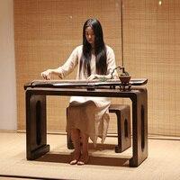 Дерево Пианино стол стул множество прямоугольник 110*40 см Азиатский Античная Мебель Гостиная Восточный Японский/китайский Чай Таблица дизай...