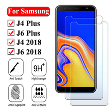 9H Tempered GLass For Samsung Galaxy J4 J6 Plus 2018 Screen Protector for J 4 6 4j 6j Safety Protective Glass Film