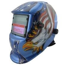 Солнечная autonatic/автоматического затемнения сварочные маски/очки защищают маску для TIG MMA MIG сварочного оборудования и плазменный резак