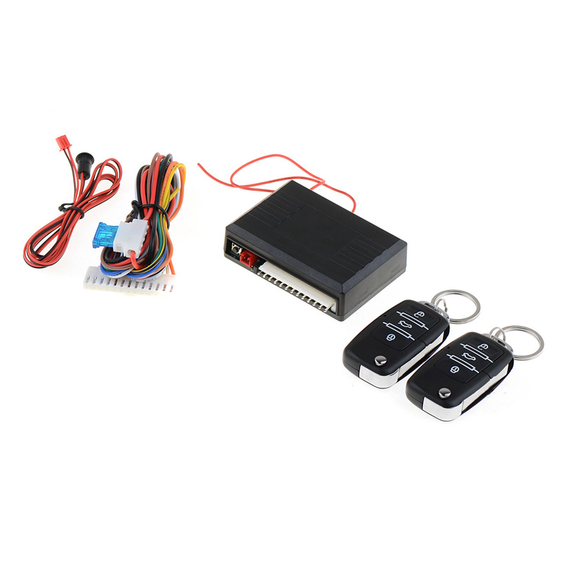 Universal Car Remote Control Central Kit Door Lock Locking Keyless Entry System Car Alarms & Security door lock motor general purpose actuator kit door lock motor keyless entry concentrated for universal car 12 v power door lock