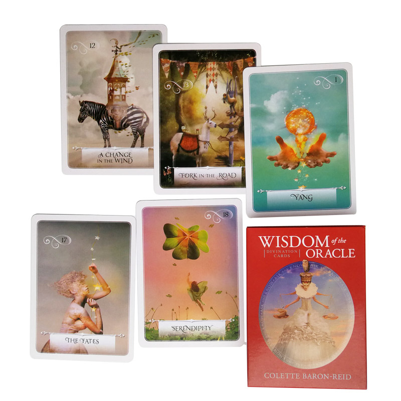 Wisdom Of The Oracle Divination Cards: Ask And Know The Mythic Fate Divination For Fortune Games 52 Cards/set