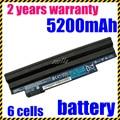 Jigu al por mayor nueva batería del ordenador portátil para acer aspire one d255 d257 d260, AL10A31 AL10B31 AL10G31 AK.006BT. 074 ICR17/65L C. BTP00.12L