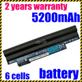 Jigu atacado new bateria do portátil para acer aspire one d255 d257 d260, AL10A31 AL10B31 AL10G31 AK.006BT. 074 ICR17/65L C. BTP00.12L