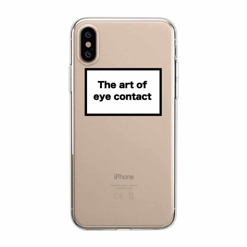 Positivo Buona Atmosfera Felice Fiducia Divertente Citazione Cassa Del Telefono Morbida Fundas Coque Copertura Per il iPhone 11 Pro 7 Più di 7 6 6S 8 8 Più di X XS Max
