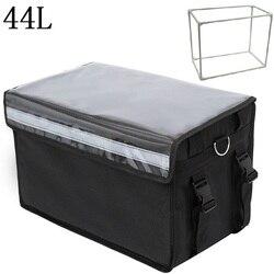 44L очень большая сумка-холодильник автомобиль пузырь со льдом изолированный Термальность Ланч сумка для пиццы свежие Еда доставки контейне...