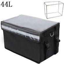 44л Экстра большая сумка-холодильник для автомобиля со льдом Изолированная термальная сумка для обеда пиццы доставка свежих продуктов конт...