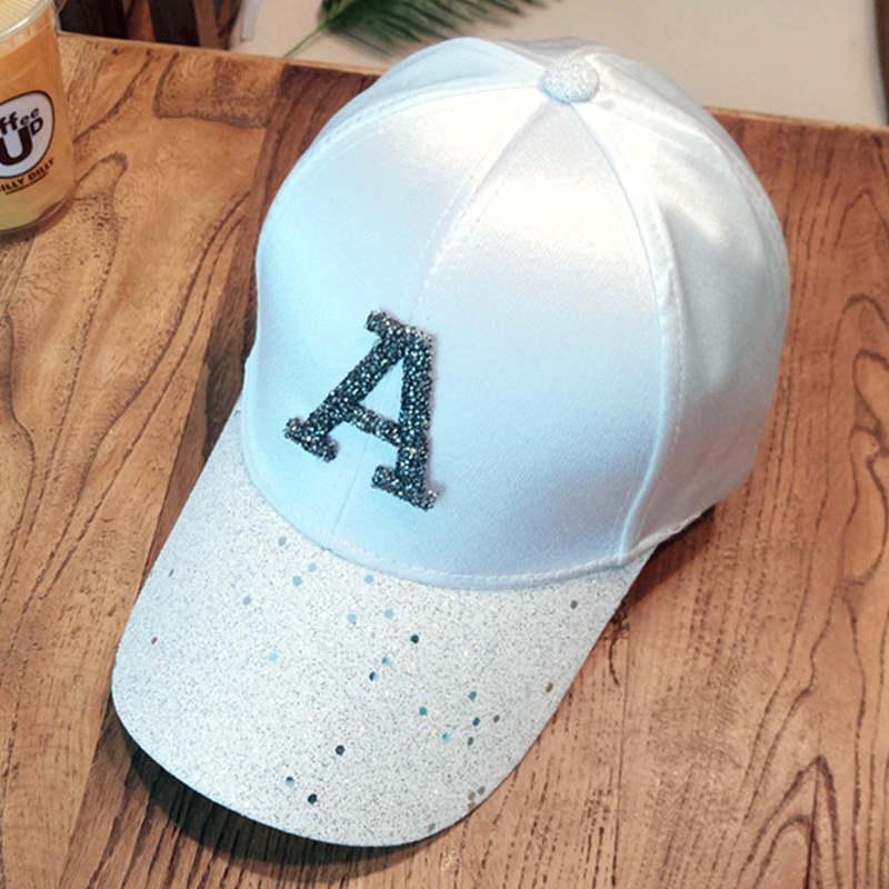Baseball caps 2019 men's snapback cap dad hat rhinestone summer hat fashion hip hop cap women gorras para unisex beisbol gift 3