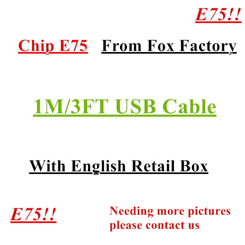 FULCOL E75 10 pcs/AAAAA 1 m Chip OD 3.0mm Data USB Sync Charger Cable For iPhone