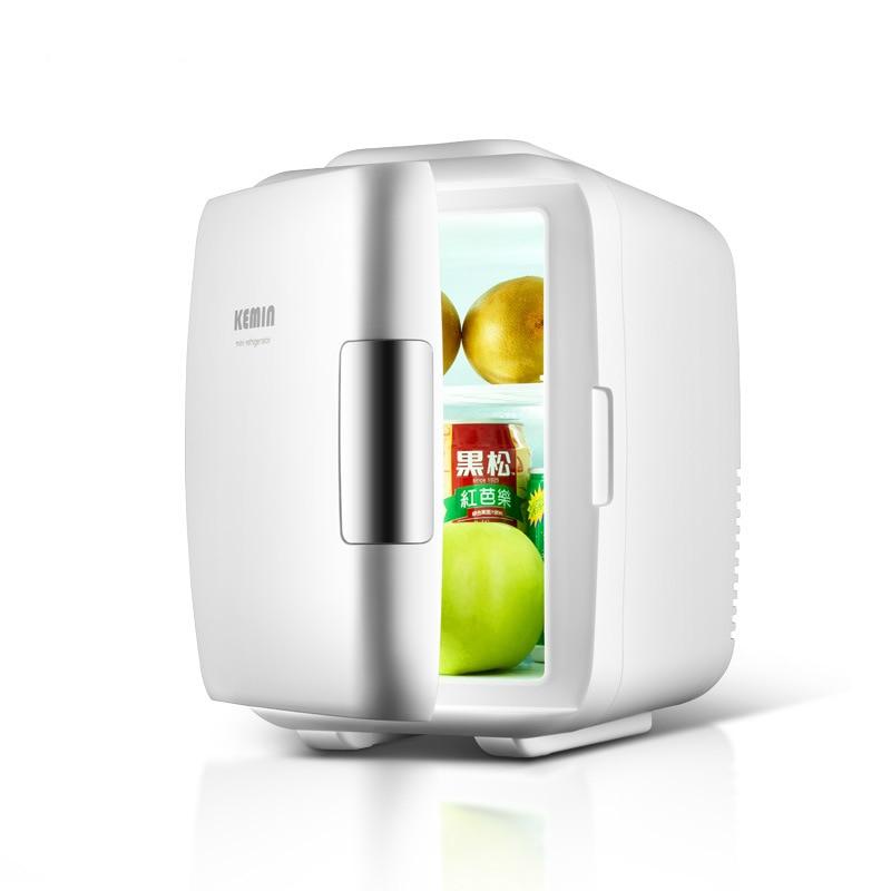 Kemin 4L Mini Fridges Cooling&heating Car Home Dual-use Cooler Box Portable Fridge Camping Car Refrigerator Small Refrigerator