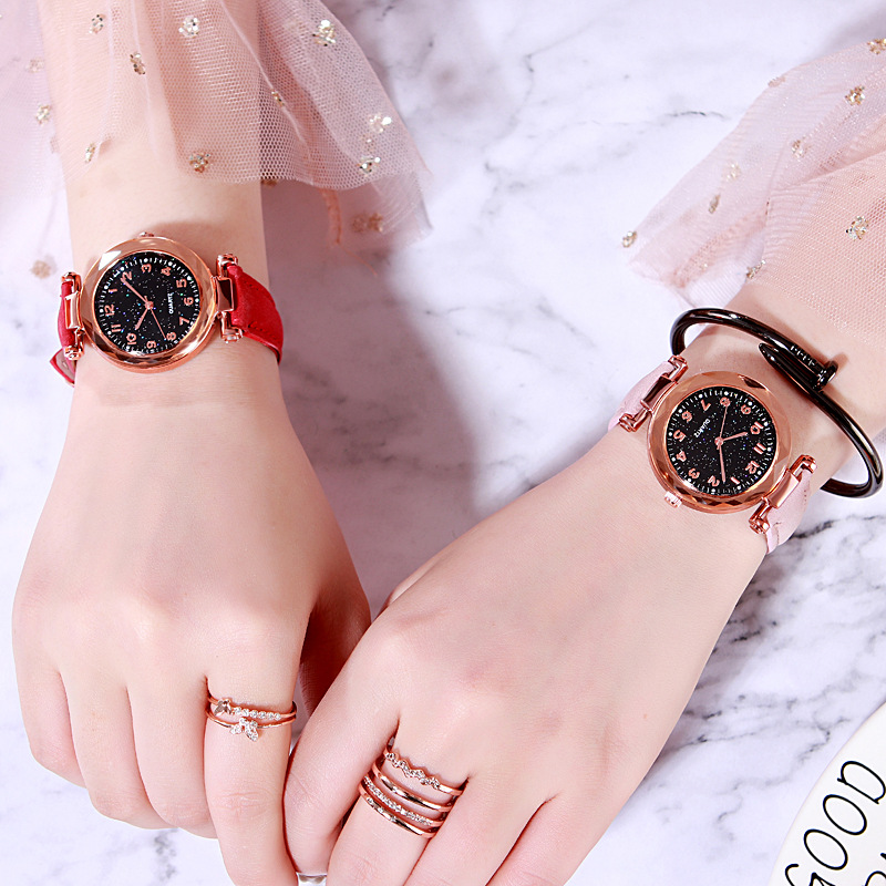 Casual Analog PU Strap Quartz WristWatch Gift For Girls Fashion Wrist Watches For Children Watch Kids Relogio Infantil Relogio