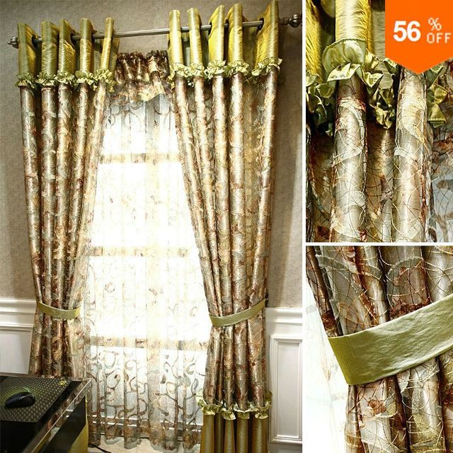 bamboo extreme quality the blind Vivian quality bird nest forest dodechedron curtain finished product green Blinds the tulle