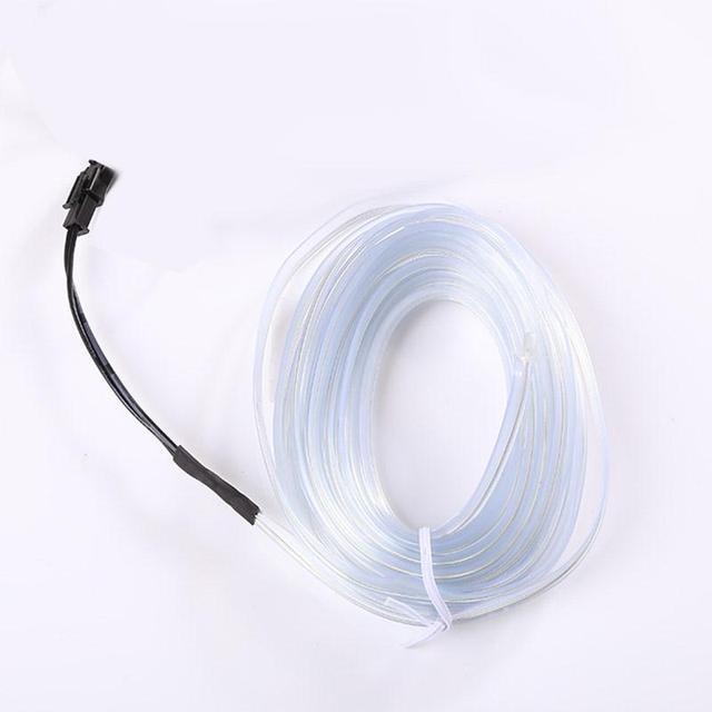 5M Car 12V LED EL Wire Indoor Universal Droplet Lights Flexible Neon ...