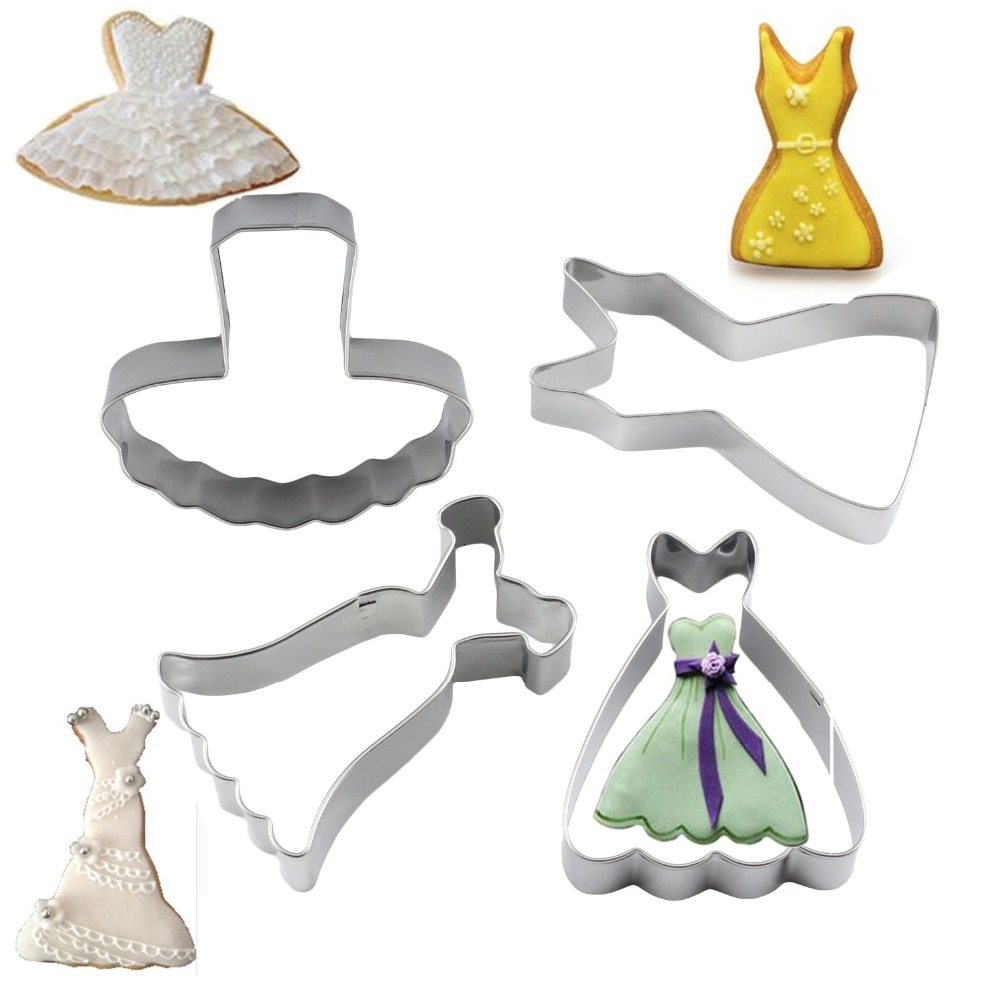 wedding dress cookies and new cookie wedding dress cookie cutter Here you can see the details on the bodice and dress