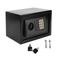 Electronic Safe Household Wall Electronic Locks Safe Deposit Box Money Jewellery Cash Store Documents Security Keypad