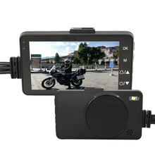 KARADAR DVR recorder for motorcycle with front and rear view recorder font b camera b font
