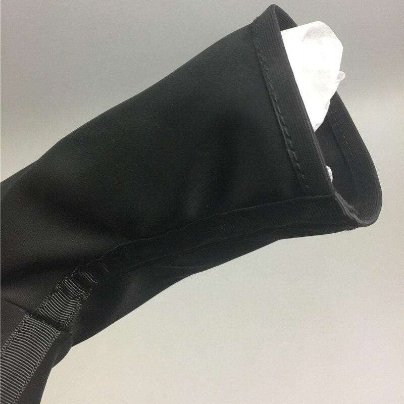 2019 zapatos de calcetín para hombre Botas de tobillo zapatillas de lujo para amantes de la pasarela botas elásticas casuales zapatos planos negros zapatillas de deporte de talla grande - 6