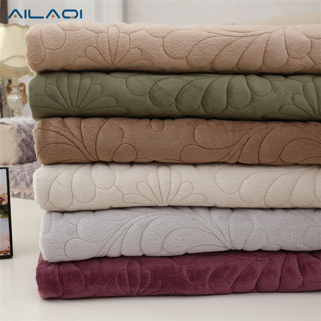 AILAQI floral plush sofa cover quilting slipcovers cheap furniture couch covers sofa protector capa de sofa fundas